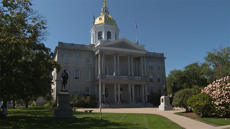The New Hampshire Statehouse-File photo