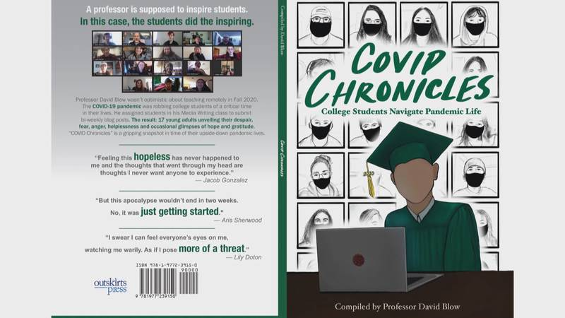 """""""COVID Chronicles: College Students Navigate Pandemic Life"""" is available on Amazon for $15."""