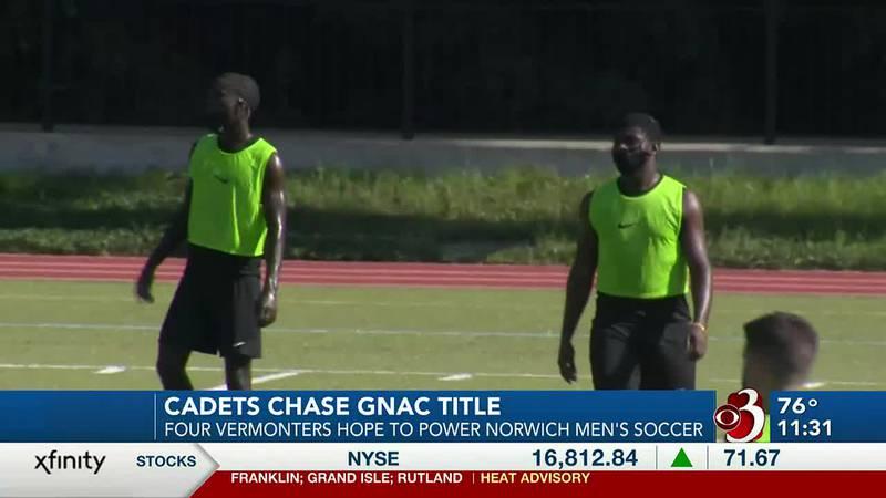 Badibanga, Nemeye, Swett, and Lashua back on pitch for Cadets