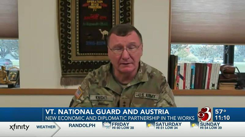 Vermont National Guard and Austria form new economic and diplomatic partnership
