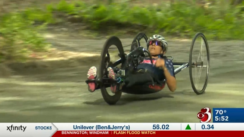 Putney native earns second career Paralympic medal in Handcycling