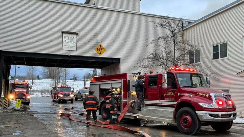 Courtesy: Irasburg Fire Department