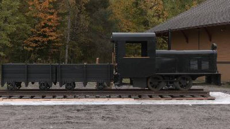 Historic locomotive finds new home in Lyon Mountain, N.Y.