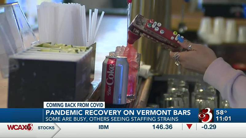 How are bars in Vermont recovering from the pandemic?