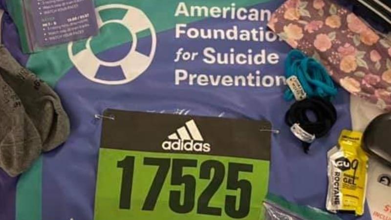 Suicide prevention and awareness walk happening in Burlington, Vermont.