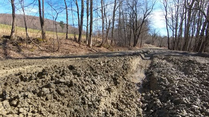 The unofficial season of Vermont-- mud season-- is hitting rural parts of our state.