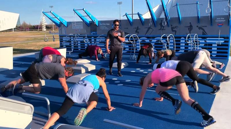 There's a push from a major health care insurance provider to bring more exercise options to...