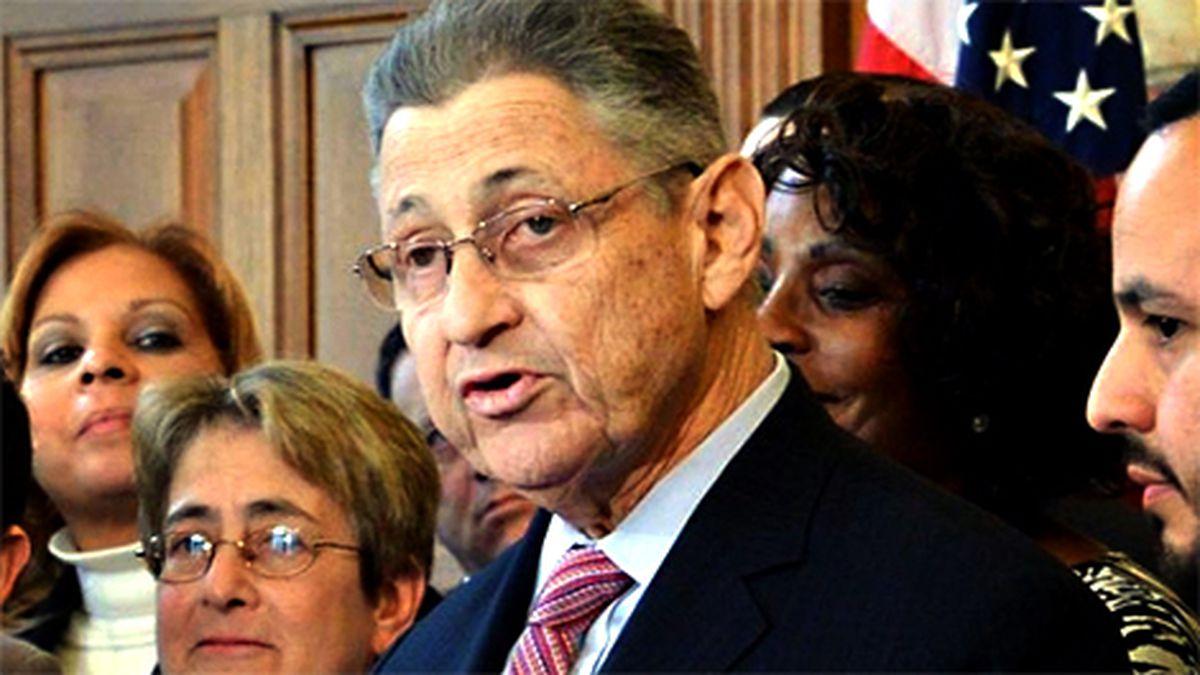 Former New York Assembly Speaker Sheldon Silver-File photo